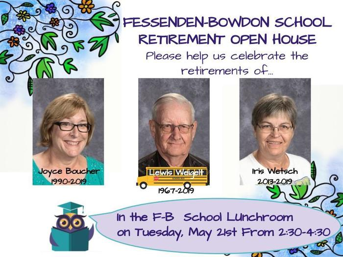 2019 Staff Retirement Open House