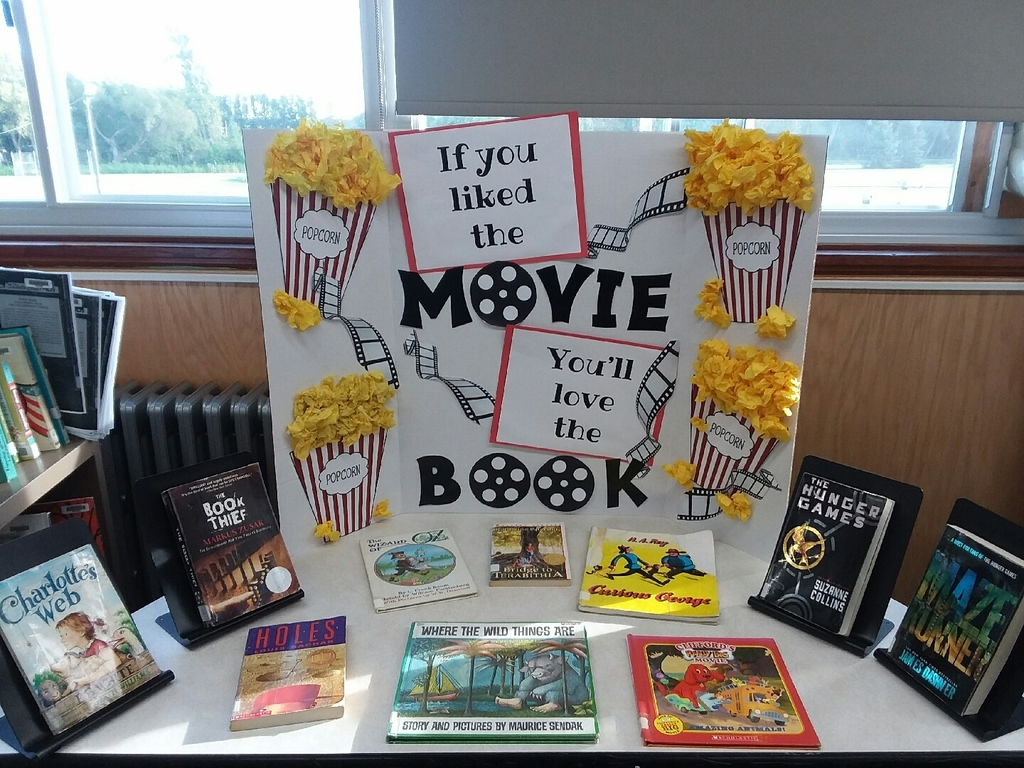 Movie and Book Display