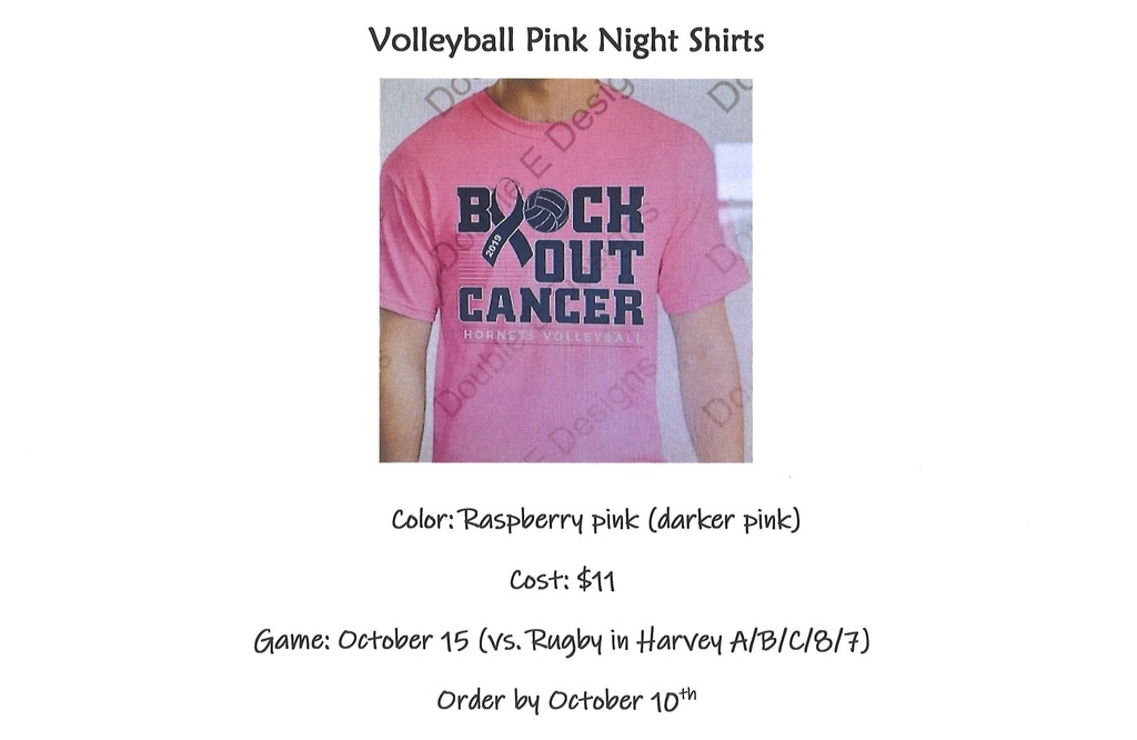 Volleyball Pink Night Shirt